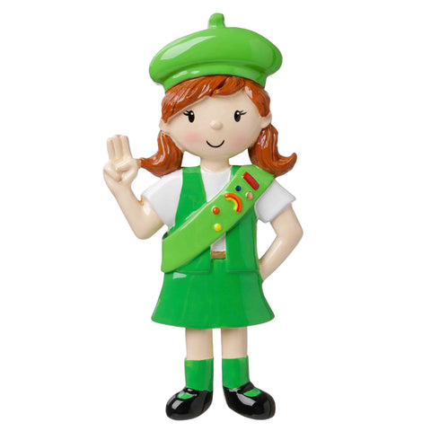 OR1654 - CHILD - GIRLS CLUB - GREEN UNIFORM