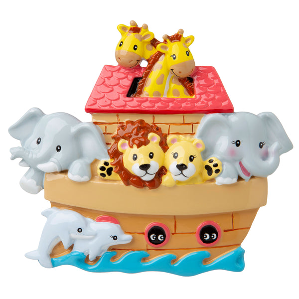 OR1659 - Noah's Ark Personalized Christmas Ornament