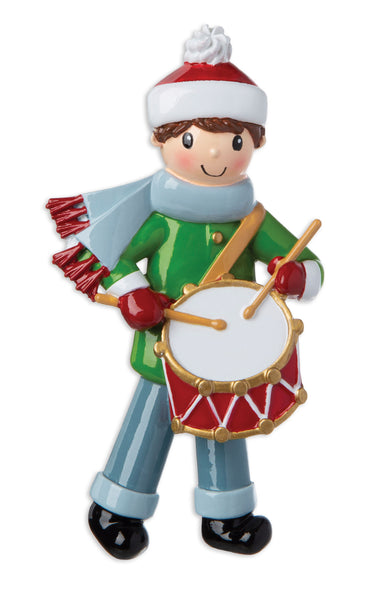 OR1668 - Little Drummer Boy Personalized Christmas Ornament