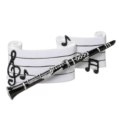 OR1683 - Clarinet Personalized Christmas Ornament
