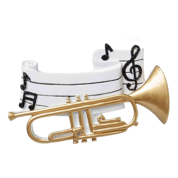 OR1686 - Trumpet Personalized Christmas Ornament