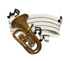 OR1688 - Tuba Personalized Christmas Ornament