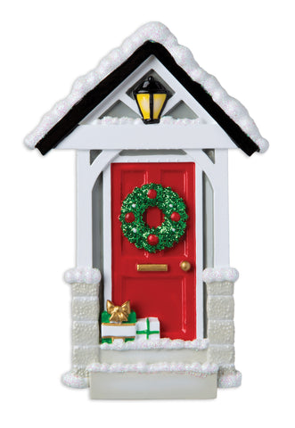 OR1698 - New Door Personalized Christmas Ornament