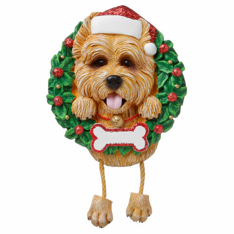OR1712-CT - Cairn Terrier (Pure Breed) Personalized Christmas Ornament