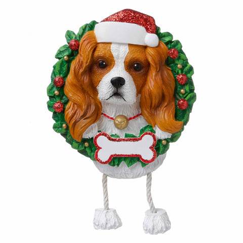 OR1712-KC - King Charles (Pure Breed) Personalized Christmas Ornament