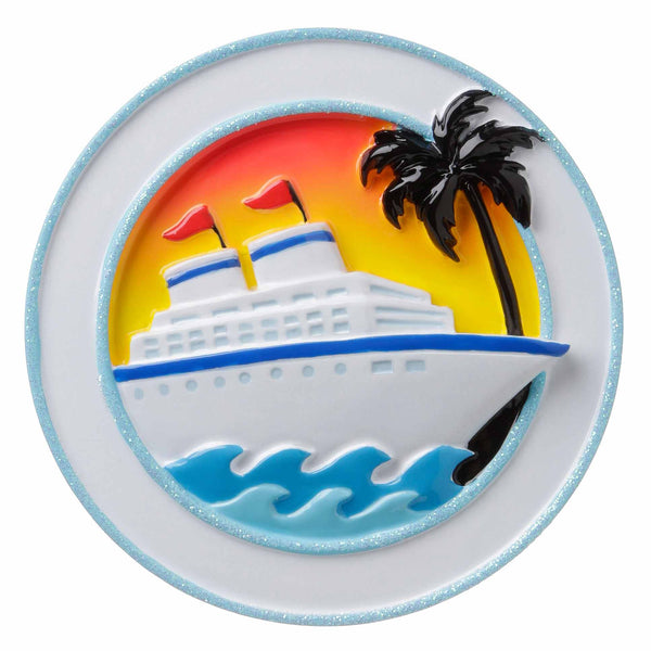 OR1725 - Cruise Ship Personalized Christmas Ornament