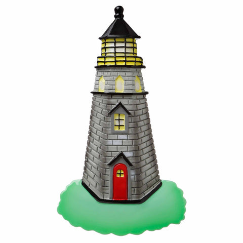 OR1727 - Lighthouse Personalized Christmas Ornament