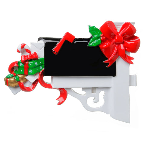 OR1728 - Christmas Mailbox Personalized Christmas Ornament