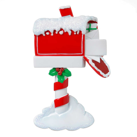 OR1741 - Christmas Mailbox Personalized Christmas Ornament