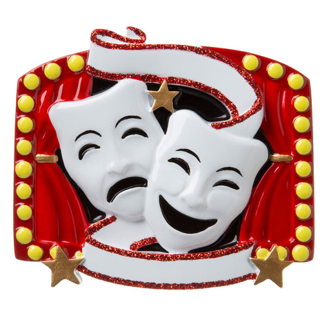 OR1801 - New Theater Personalized Christmas Ornament