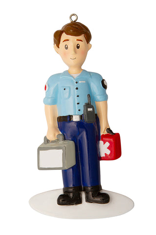 OR1808 - First Responder/EMT Personalized Christmas Ornament
