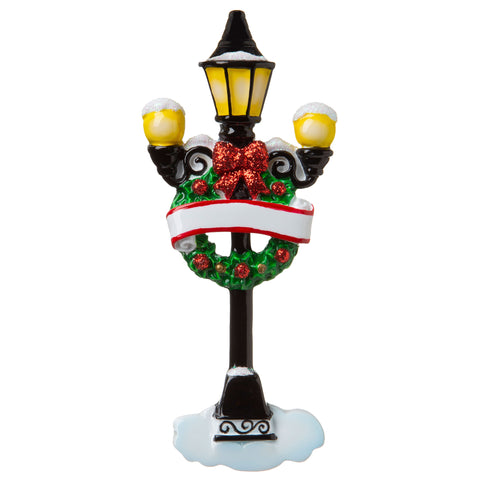 OR1862 - Holiday Light Post Personalized Christmas Ornament