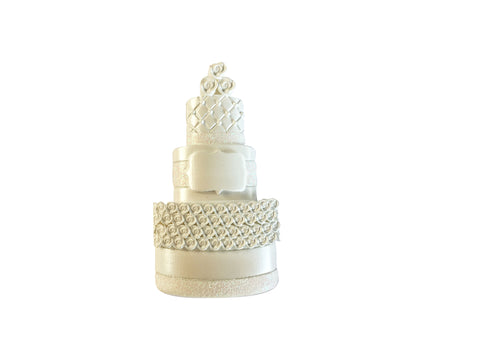 OR1870 - New Wedding Cake Personalized Christmas Ornament