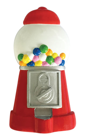 OR1892 - Gumball Machine Personalized Christmas Ornament
