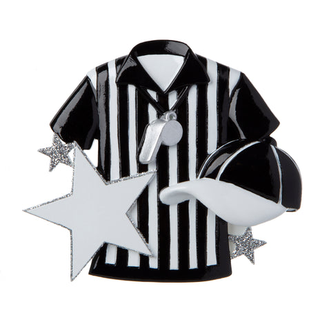 OR1896 - Referee/Umpire Personalized Christmas Ornament
