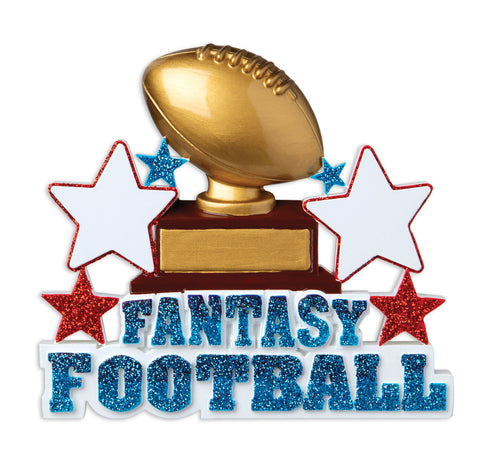 OR1943 - Fantasy Football Personalized Christmas Ornament