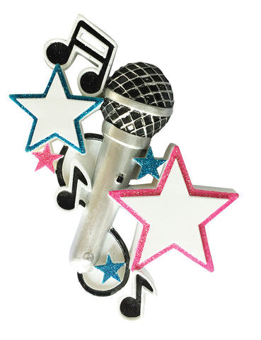 OR1947 - Karaoke Personalized Christmas Ornament