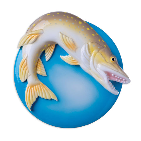 OR1950 - Northern Pike Personalized Christmas Ornament