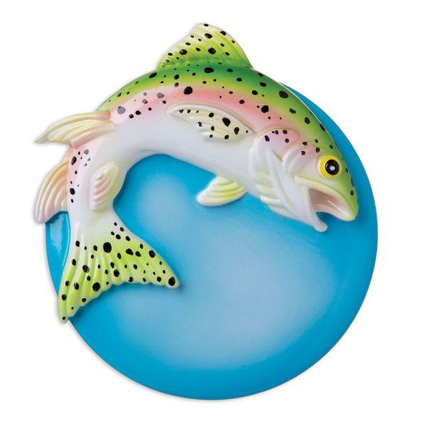 OR1963 - Rainbow Trout Personalized Christmas Ornament