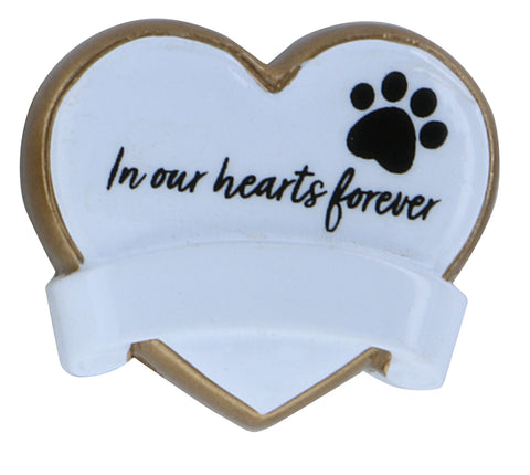 OR2013 - Stick On Pet Memorial Heart (Add On)