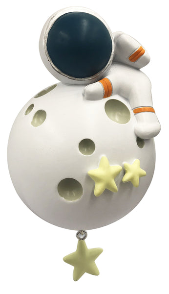 OR2155 - Astronaut Personalized Christmas Ornament