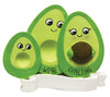 OR2182-1 - Avocado Family Expecting w/1 Child Personalized Christmas Ornament