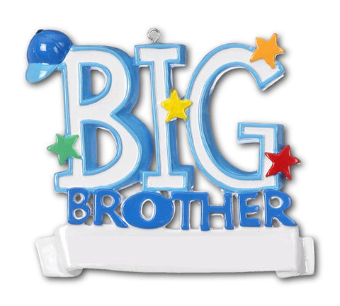 OR449 - Big Brother Personalized Christmas Ornament