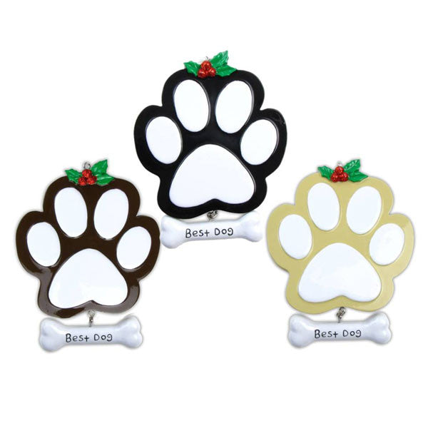 or712 a dog paw 4 black 4 tan 4 brown