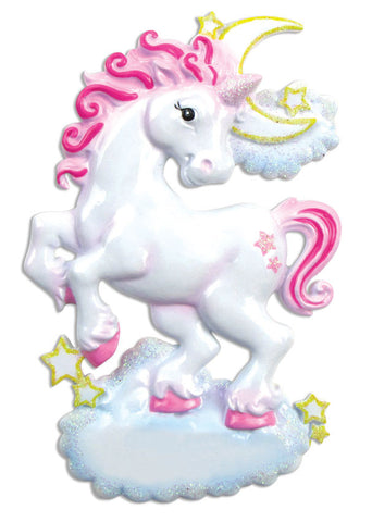 OR813 - Unicorn Personalized Christmas Ornament