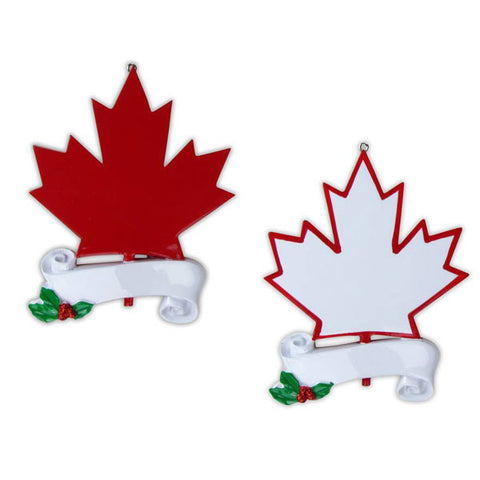 OR882-A - Canada Personalized Christmas Ornament
