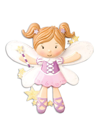 OR906 - Fairy Personalized Christmas Ornament