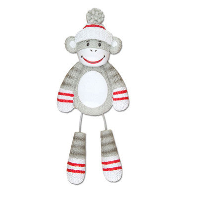 OR928 - Stuffed Monkey Personalized Christmas Ornaments