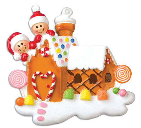 OR965-2 - Gingerbread House with 2