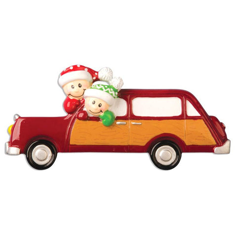 OR971-2 - Holiday Car with Couple