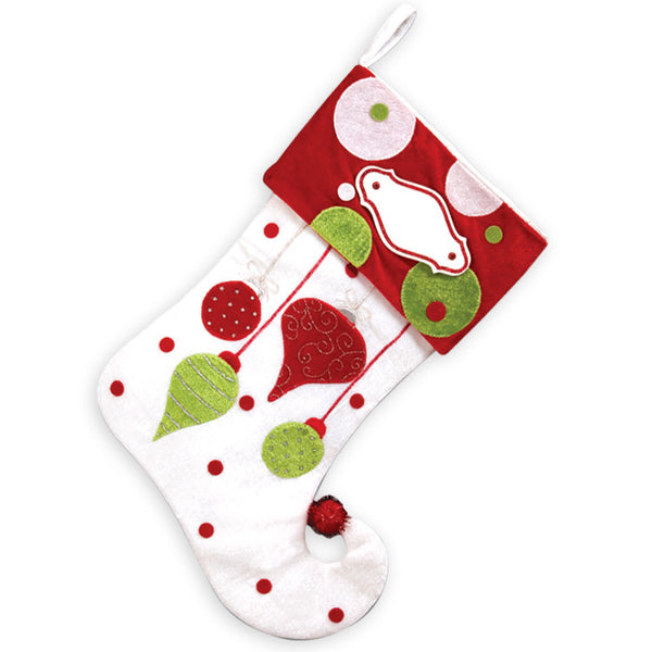 PBS127 HO - Hanging Personalized Christmas Stocking