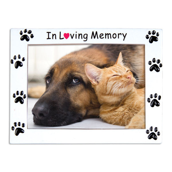 PF1145 - Rest In Peace Frame Pets Personalized Christmas Ornaments