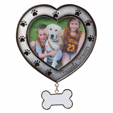 PF1710 - Friends Forever Picture Frame Personalized Christmas Ornament