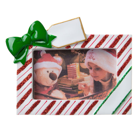 PF1766 - New Christmas Photo Frame Personalized Christmas Ornament