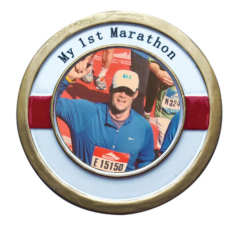 PF1936 - My 1st Marathon Personalized Christmas Ornament