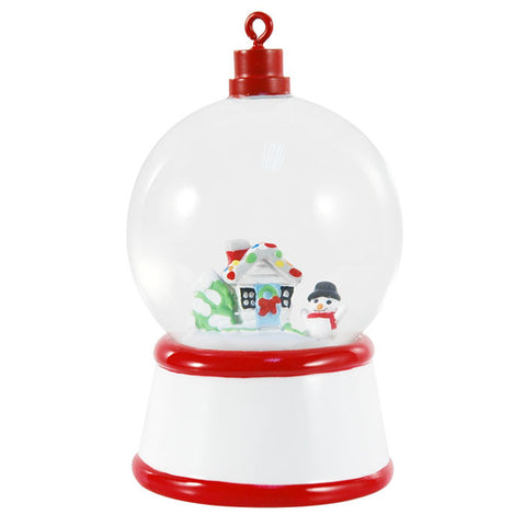 SG001 - Christmas House Personalized Christmas Snow Globe