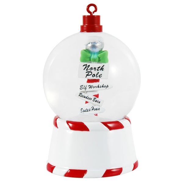 SG002 - North Pole Personalized Christmas Snow Globe