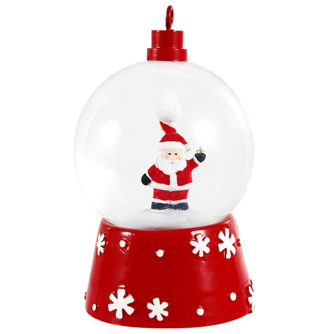 SG007 - Santa Personalized Christmas Snow Globe
