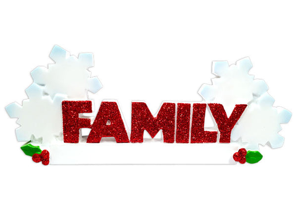 TT1524-4 - Family (4) Table Topper