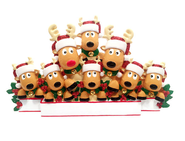 TT1527-8 - New Reindeer (family of 8) Table Topper