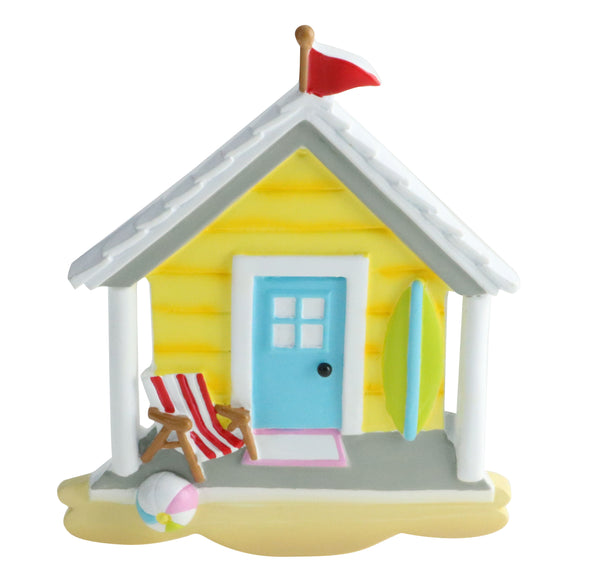 OR1865 - Beach House Personalized Christmas Ornament