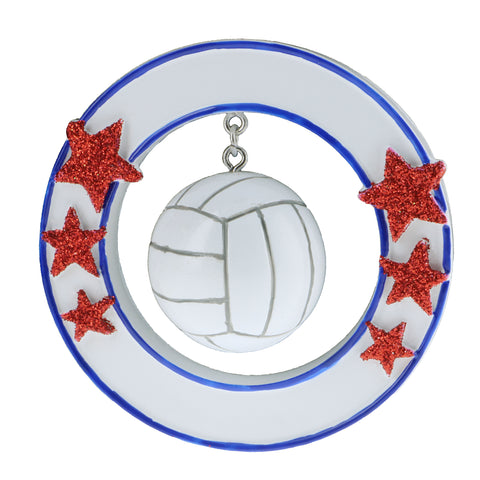 OR1866 - Volleyball Personalized Christmas Ornament