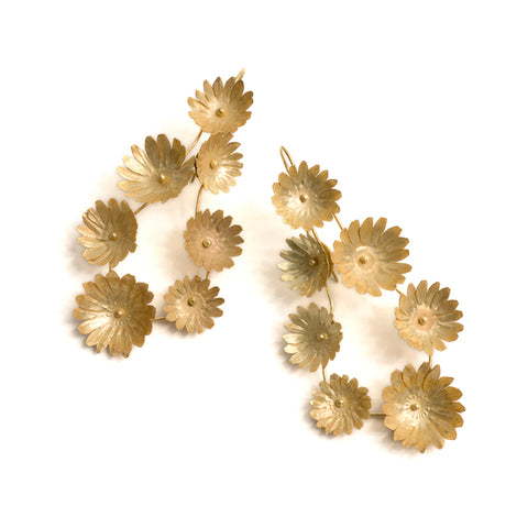 Fiori Seven-Flower Earrings by David Neale