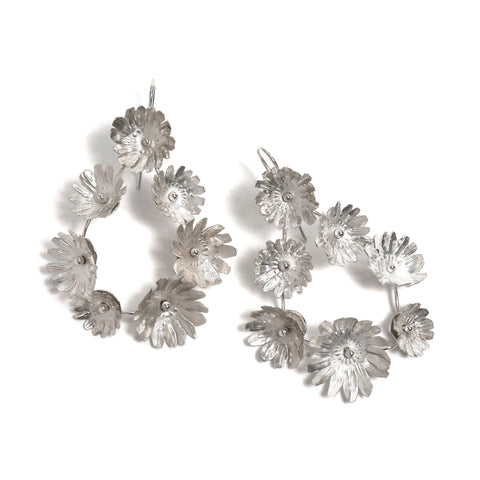 Fiori Seven-Flower Earrings