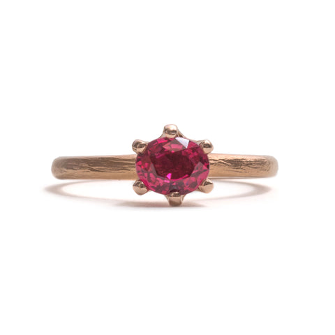 Stone Love Spinel Solitaire Ring by Karla Way