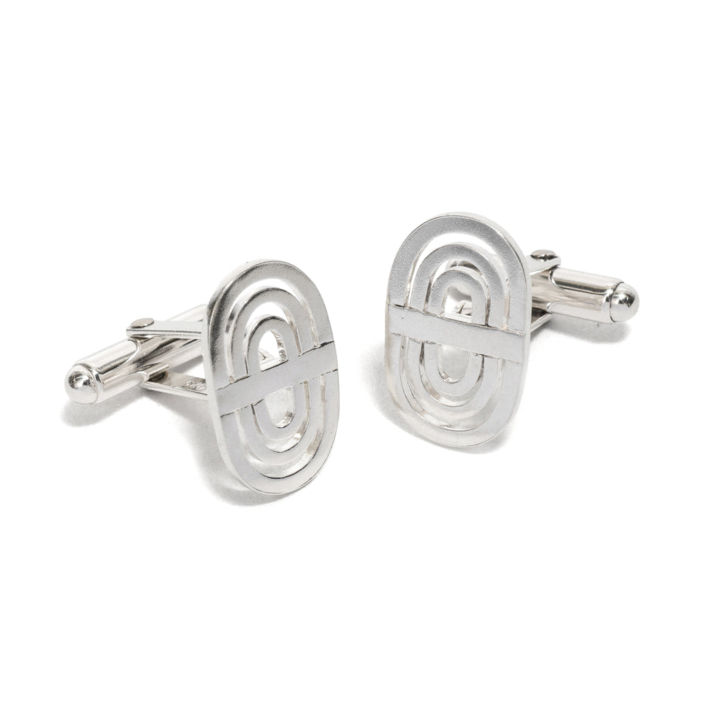 Silver Shift Cufflinks